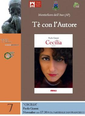 T'è con L'autore – Cecilia di Paola Gianni