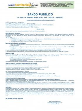 BANDO L.R. 30